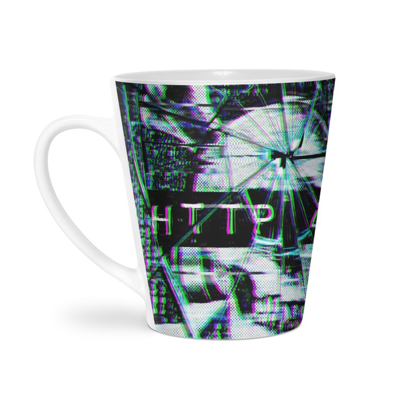 FATAL ERROR Accessories Latte Mug by Den of the Wolf
