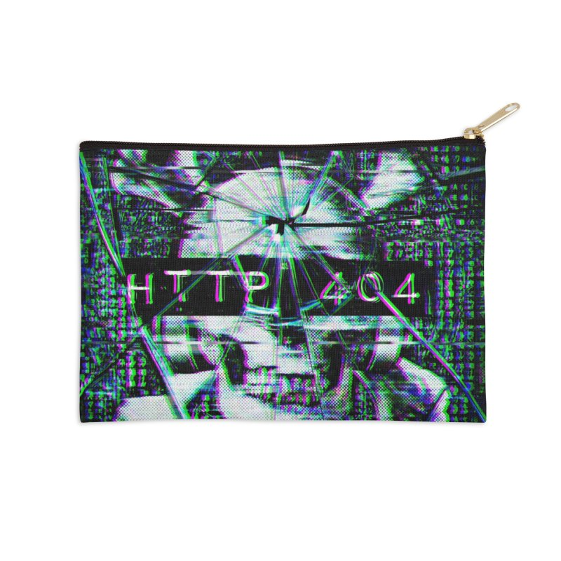 FATAL ERROR Accessories Zip Pouch by Den of the Wolf
