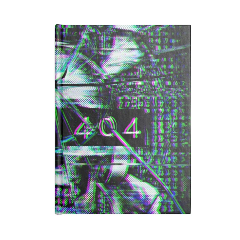FATAL ERROR Accessories Lined Journal Notebook by Den of the Wolf