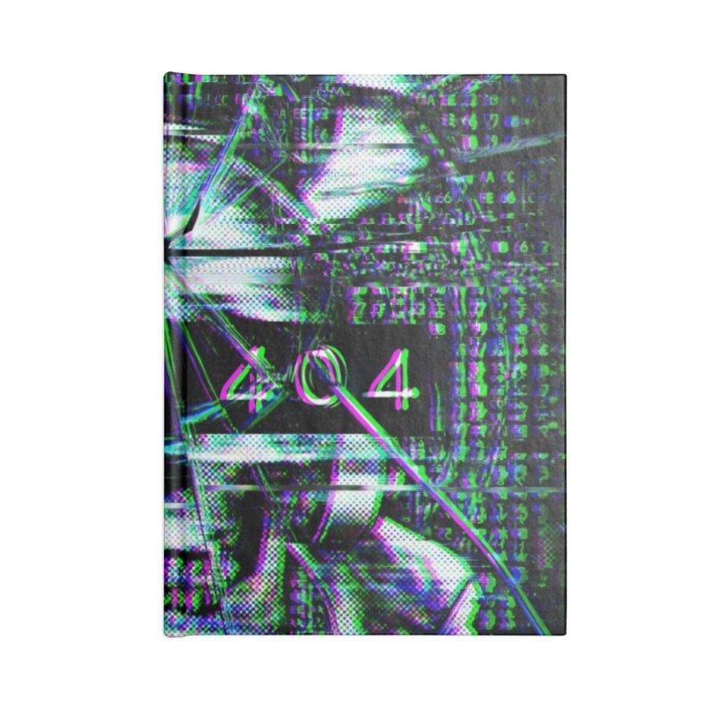 FATAL ERROR Accessories Blank Journal Notebook by Den of the Wolf