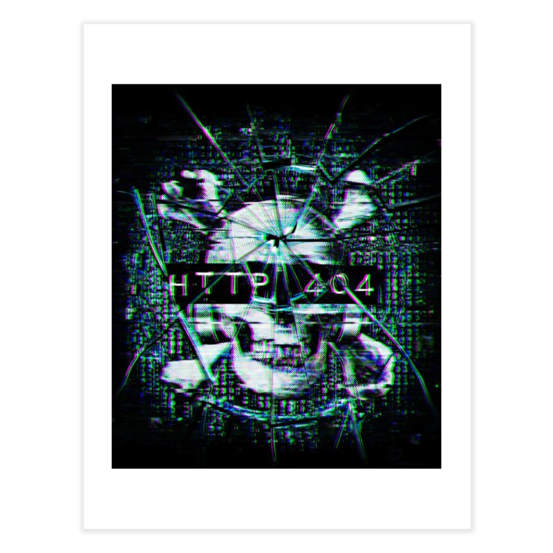 FATAL ERROR Home Fine Art Print by Den of the Wolf