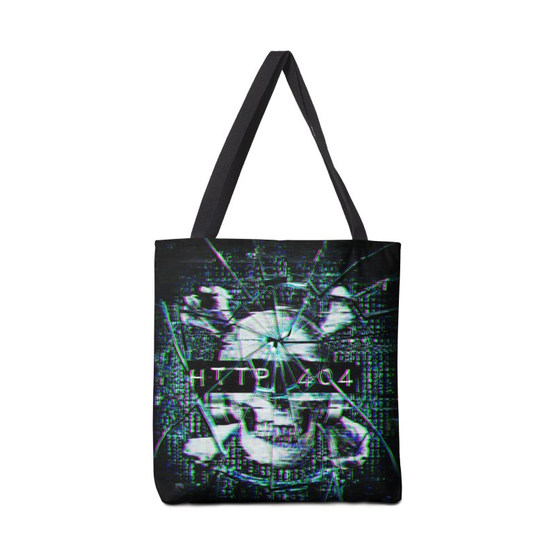 FATAL ERROR Accessories Tote Bag Bag by Den of the Wolf