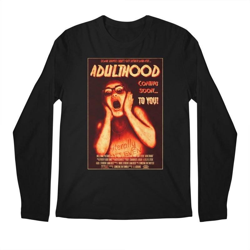 ADULTHOOD Men's Regular Longsleeve T-Shirt by Den of the Wolf