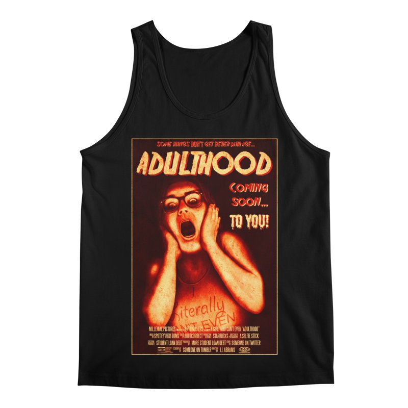 ADULTHOOD Men's Regular Tank by Den of the Wolf