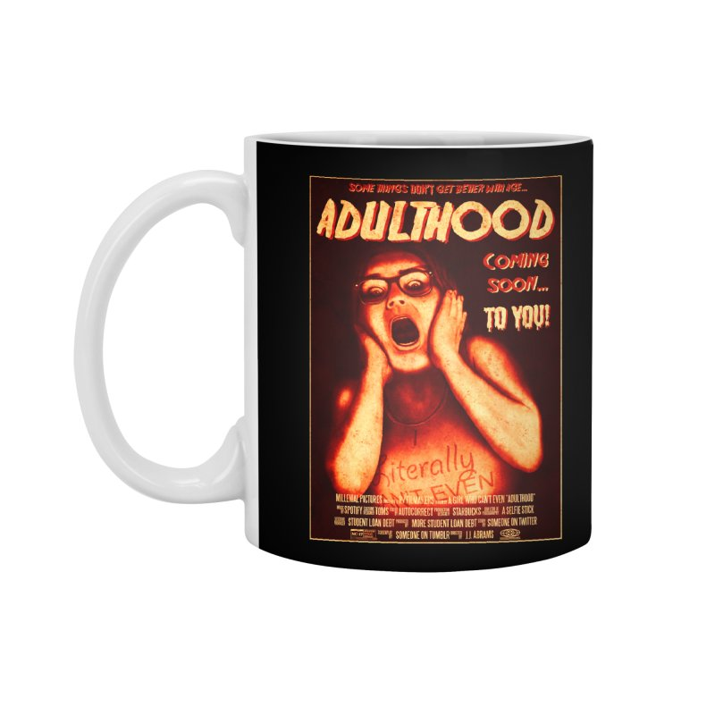 ADULTHOOD Accessories Standard Mug by Den of the Wolf