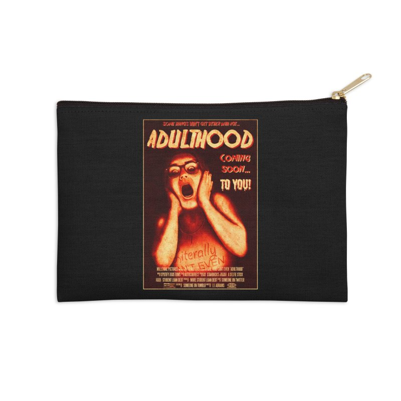 ADULTHOOD Accessories Zip Pouch by Den of the Wolf
