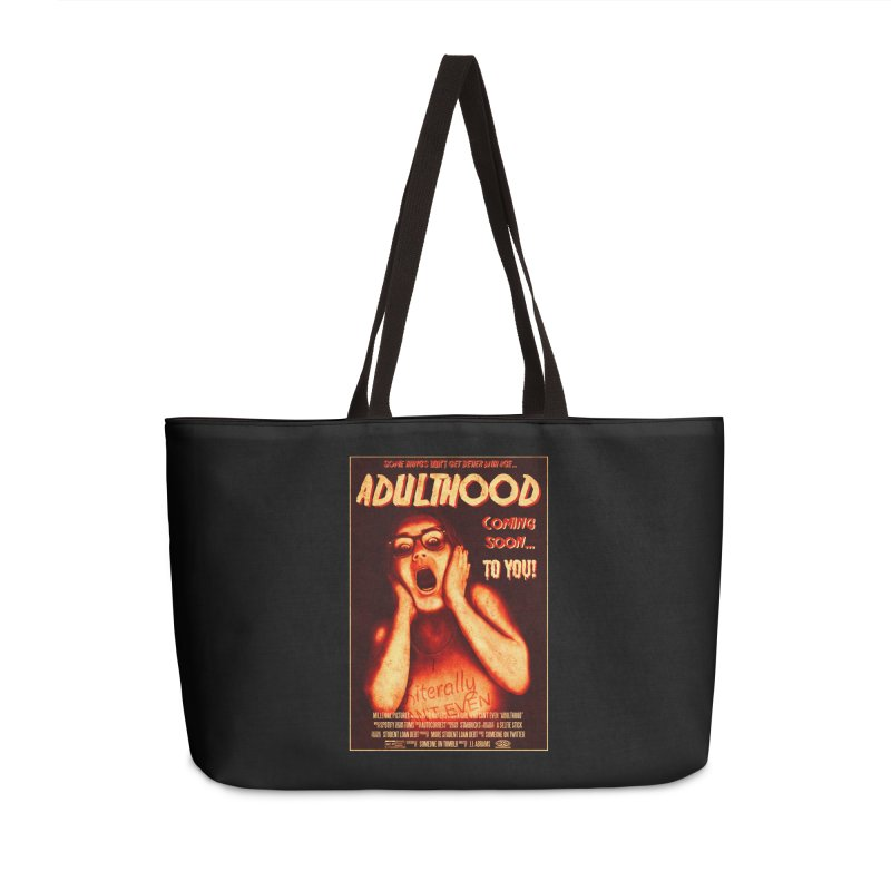 ADULTHOOD Accessories Weekender Bag Bag by Den of the Wolf