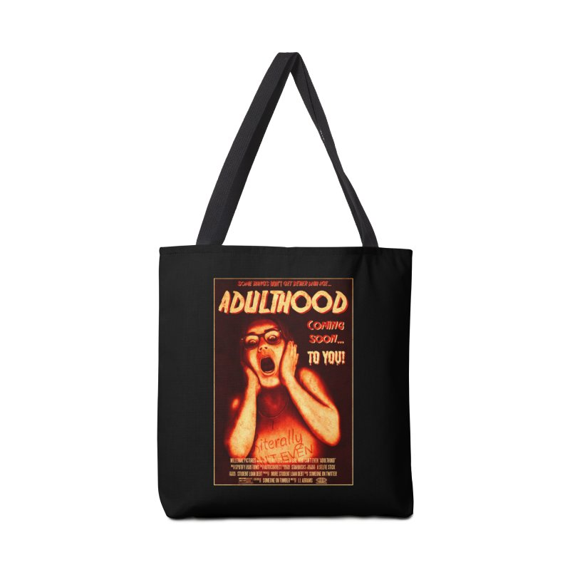 ADULTHOOD Accessories Tote Bag Bag by Den of the Wolf