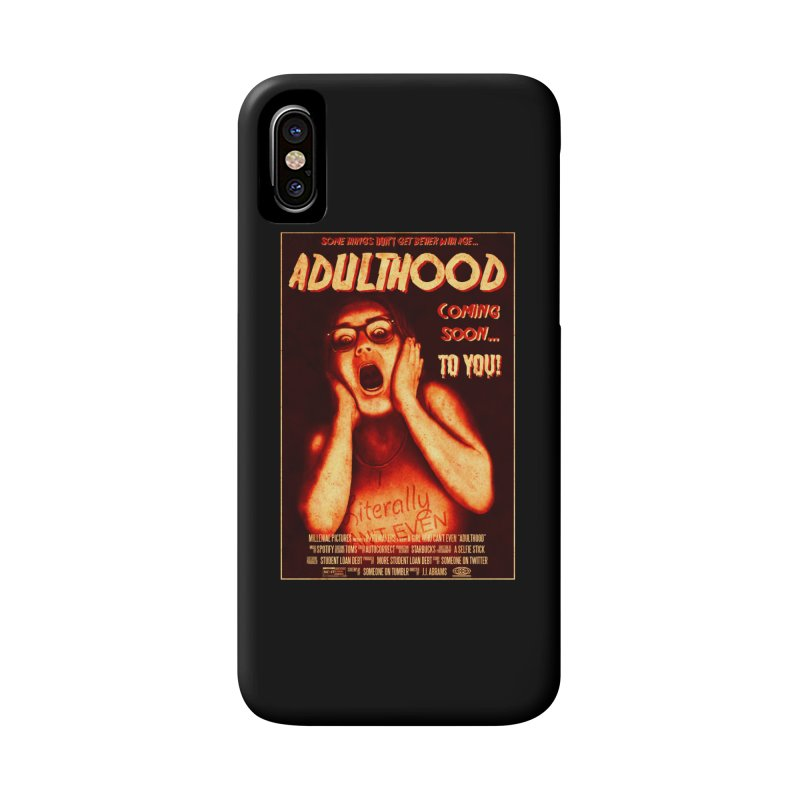 ADULTHOOD Accessories Phone Case by Den of the Wolf