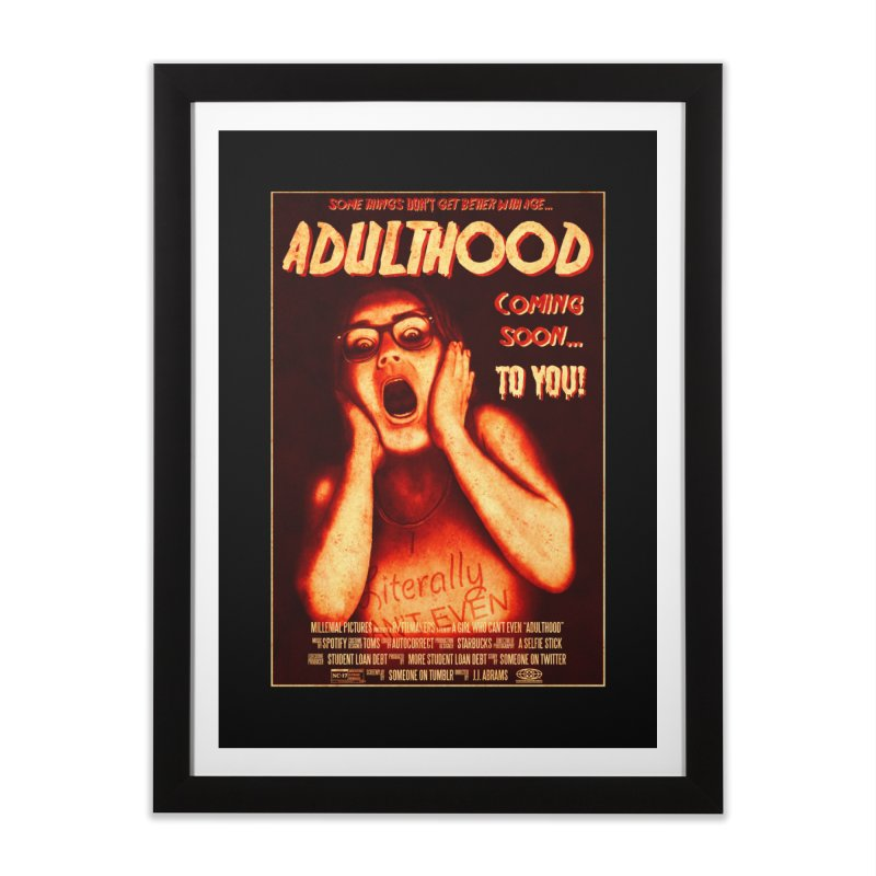 ADULTHOOD Home Framed Fine Art Print by Den of the Wolf
