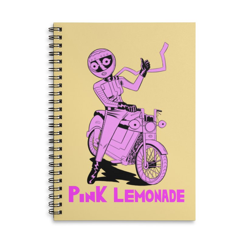 Thumbs up! Accessories Lined Spiral Notebook by Nick Cagnetti's Artist Shop