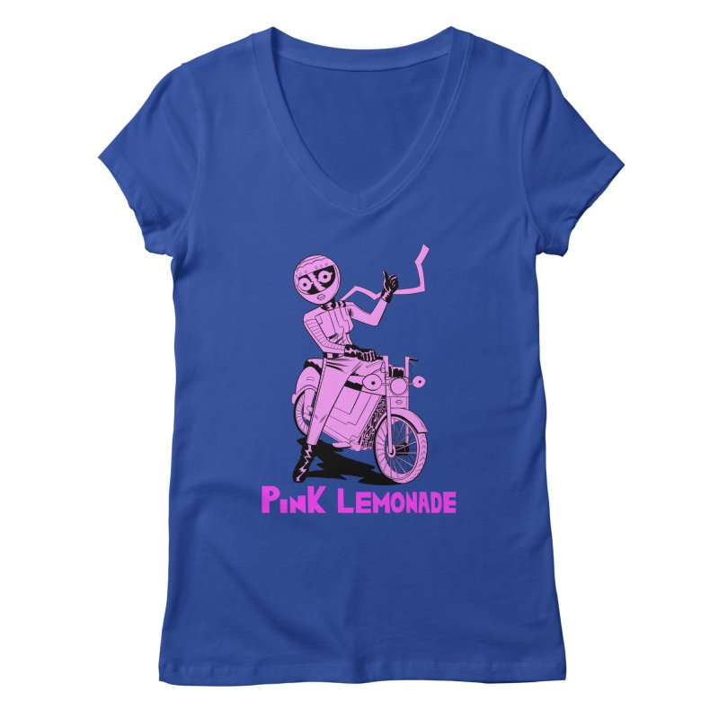 Thumbs up! Women's Regular V-Neck by Nick Cagnetti's Artist Shop