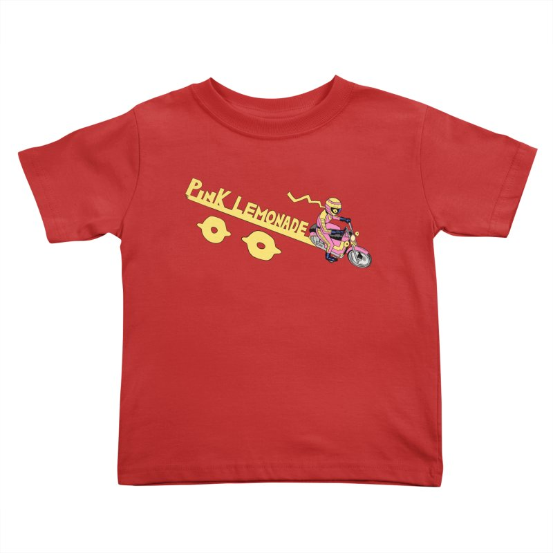 Riding the line Kids Toddler T-Shirt by Nick Cagnetti's Artist Shop