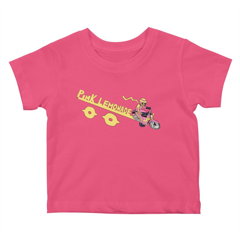 Riding the line Kids Baby T-Shirt by Nick Cagnetti's Artist Shop