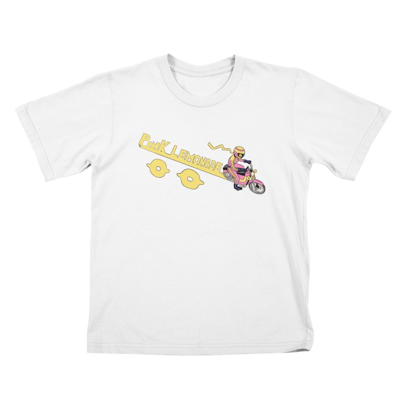 Riding the line Kids T-Shirt by Nick Cagnetti's Artist Shop