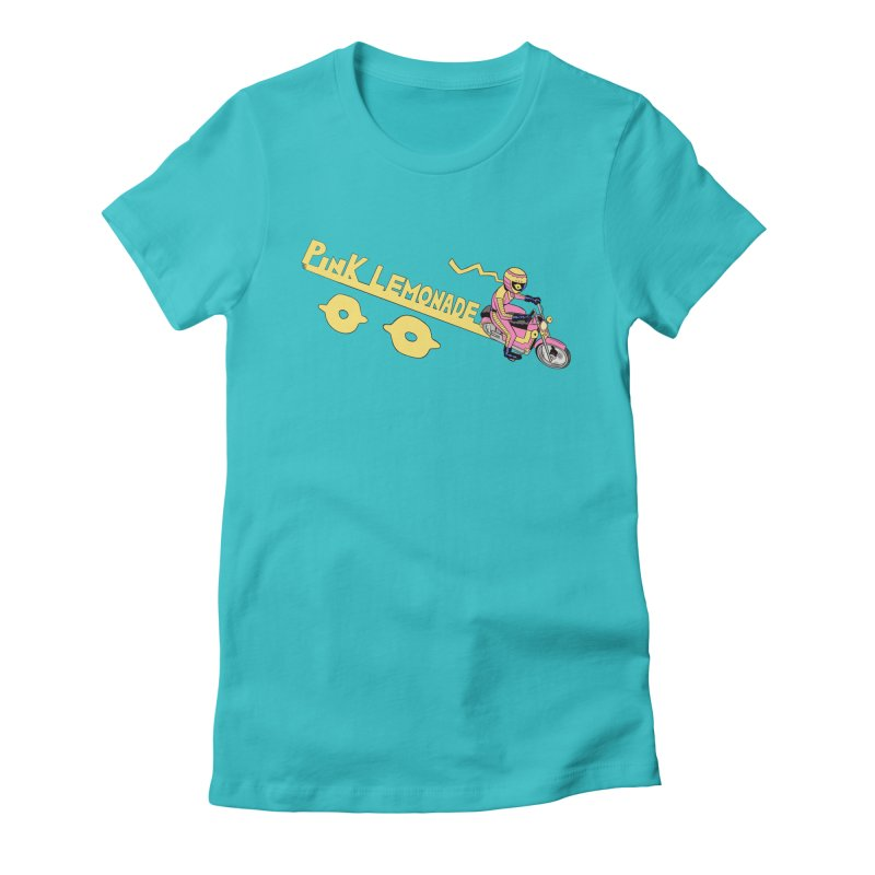 Riding the line Women's T-Shirt by Nick Cagnetti's Artist Shop