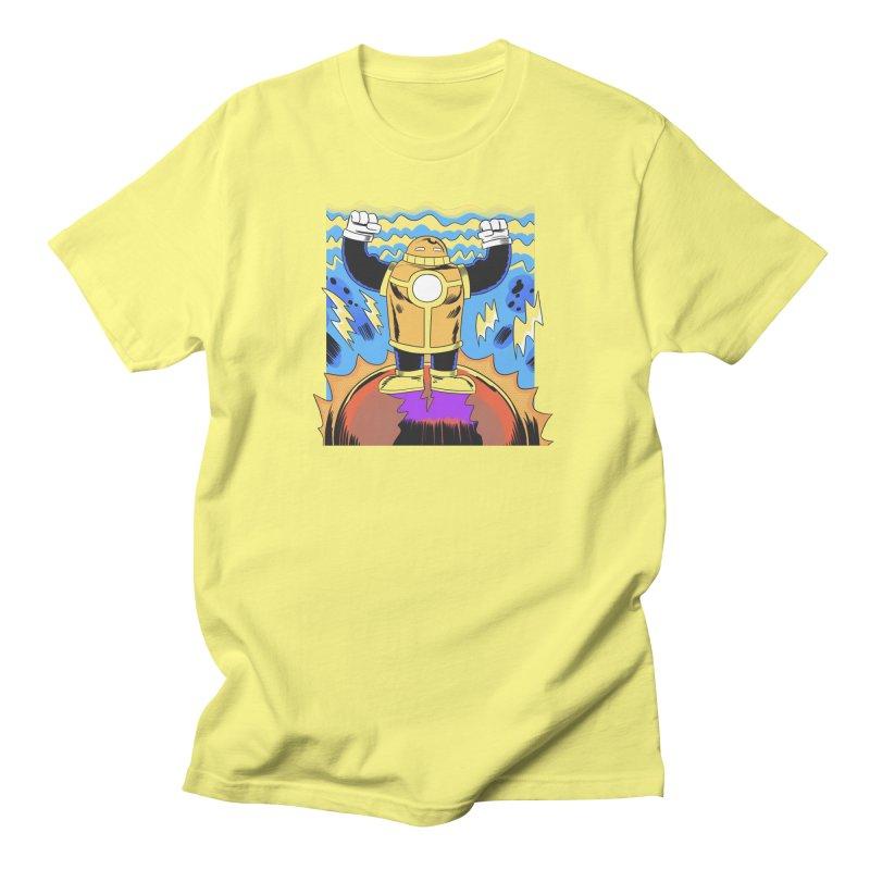 OJ-Bot Triumphant Women's T-Shirt by Nick Cagnetti's Artist Shop