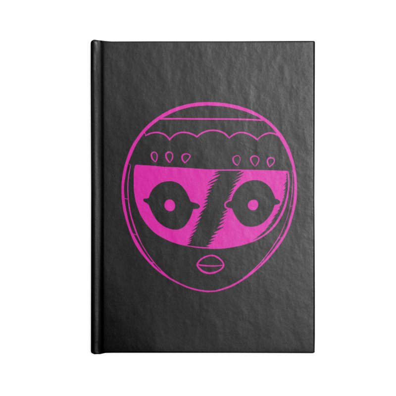 Sleek helmet Accessories Lined Journal Notebook by Nick Cagnetti's Artist Shop