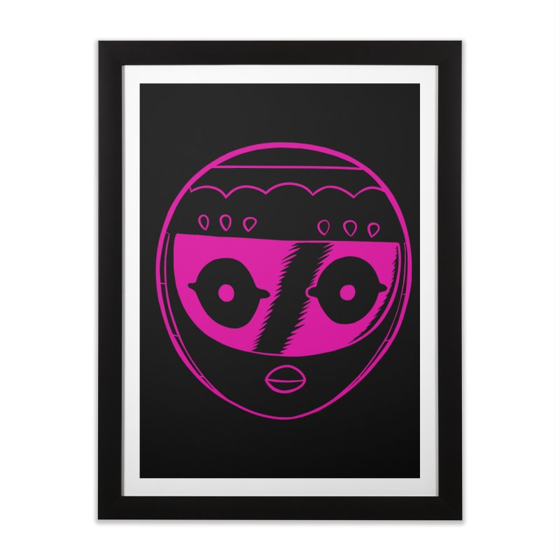 Sleek helmet Home Framed Fine Art Print by Nick Cagnetti's Artist Shop