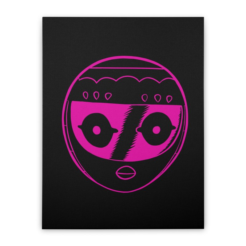 Sleek helmet Home Stretched Canvas by Nick Cagnetti's Artist Shop