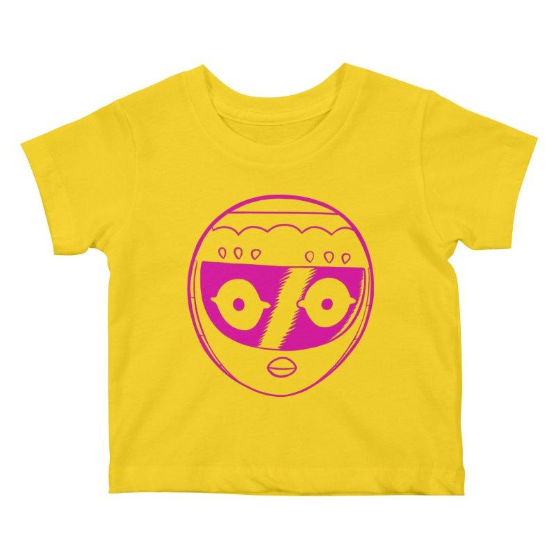Sleek helmet Kids Baby T-Shirt by Nick Cagnetti's Artist Shop