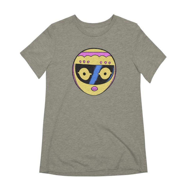 Sleek helmet full color Women's T-Shirt by Nick Cagnetti's Artist Shop