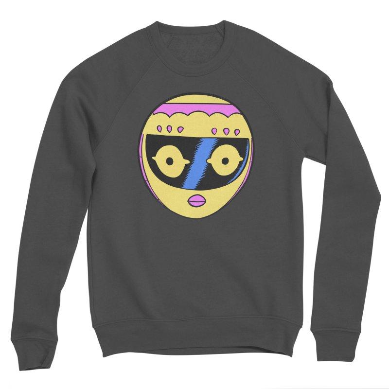 Sleek helmet full color Men's Sponge Fleece Sweatshirt by Nick Cagnetti's Artist Shop