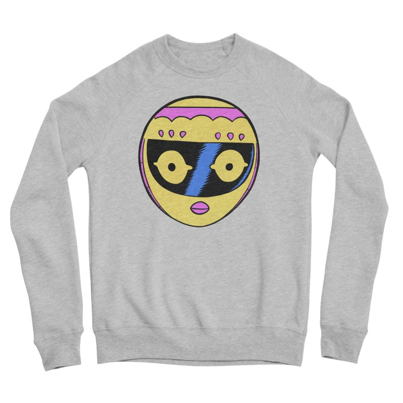 Sleek helmet full color Women's Sponge Fleece Sweatshirt by Nick Cagnetti's Artist Shop