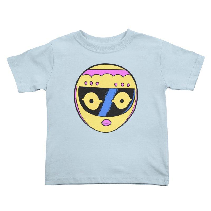Sleek helmet full color Kids Toddler T-Shirt by Nick Cagnetti's Artist Shop