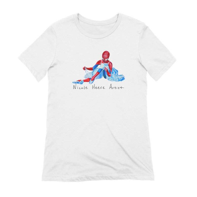 Spidey Ballet Women's T-Shirt by NicoleHeere's Artist Shop