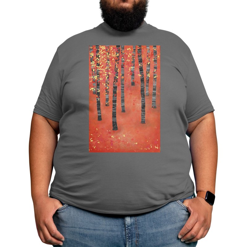 Birch Forest Men's T-Shirt by Nic Squirrell
