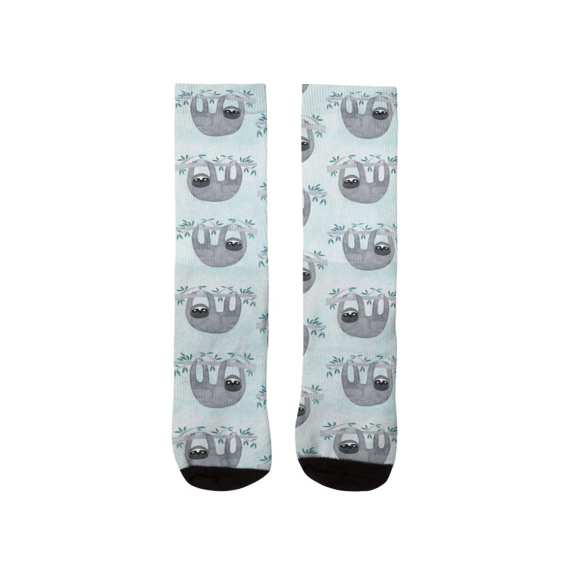 Sloth Women's Socks by Nic Squirrell