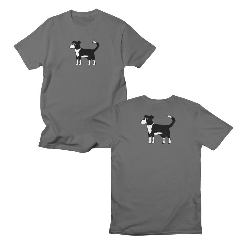 Border Collie Sheep Dog Men's T-Shirt by Nic Squirrell