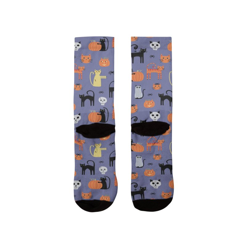 Halloween Cats Women's Socks by Nic Squirrell