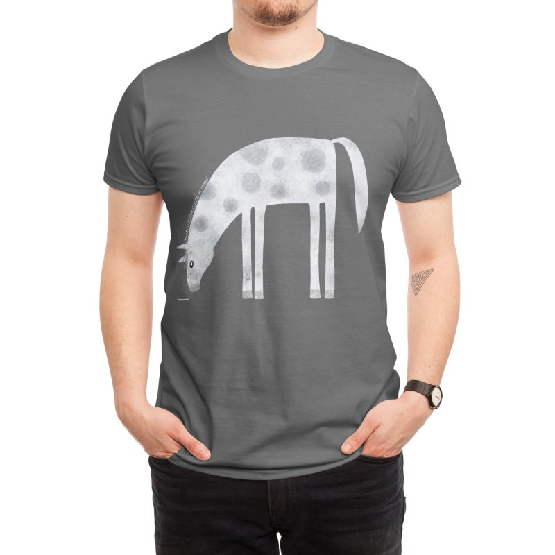 Horse Men's T-Shirt by Nic Squirrell