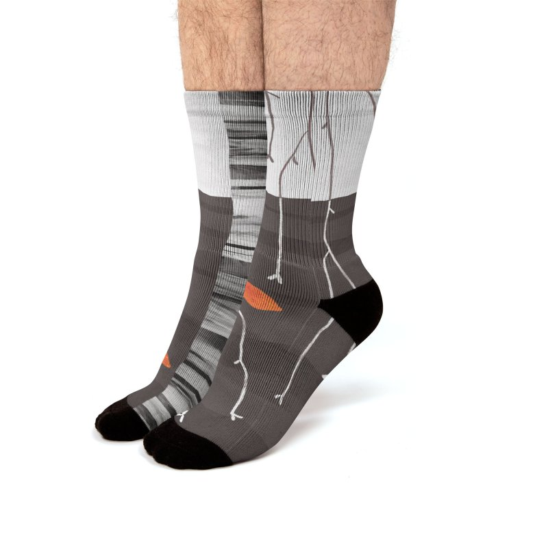 The Last of the Leaves Men's Socks by Nic Squirrell