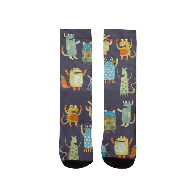 Monsters Women's Socks by Nic Squirrell