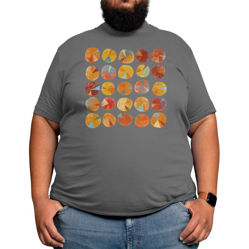 Pies are Squared Men's T-Shirt by Nic Squirrell