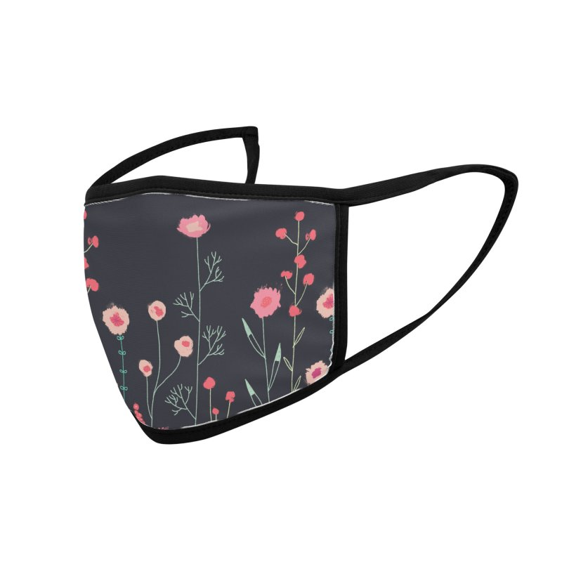 Plymouth Flowers Accessories Face Mask by Nic Squirrell