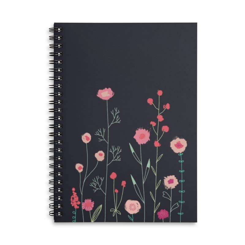Plymouth Flowers Accessories Notebook by Nic Squirrell