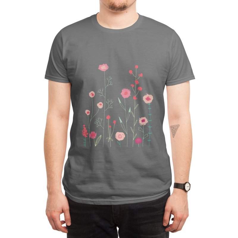 Plymouth Flowers Men's T-Shirt by Nic Squirrell