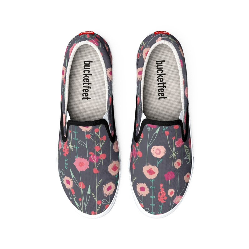 Plymouth Flowers Women's Shoes by Nic Squirrell