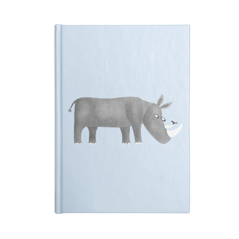 Rhino Accessories Notebook by Nic Squirrell