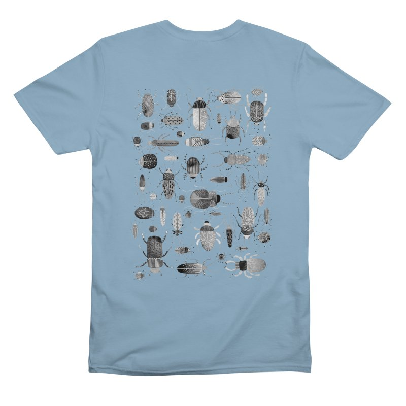 Ink Beetles Men's T-Shirt by Nic Squirrell