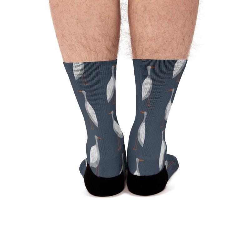 Stork Men's Socks by Nic Squirrell