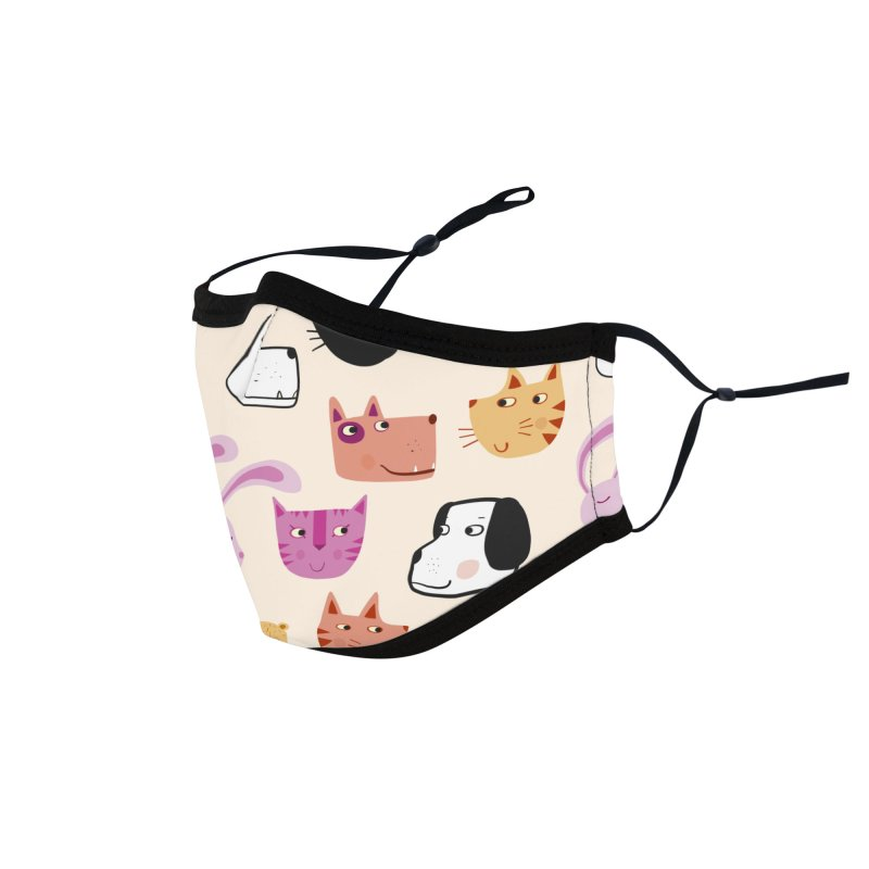 All the Pets Accessories Face Mask by Nic Squirrell