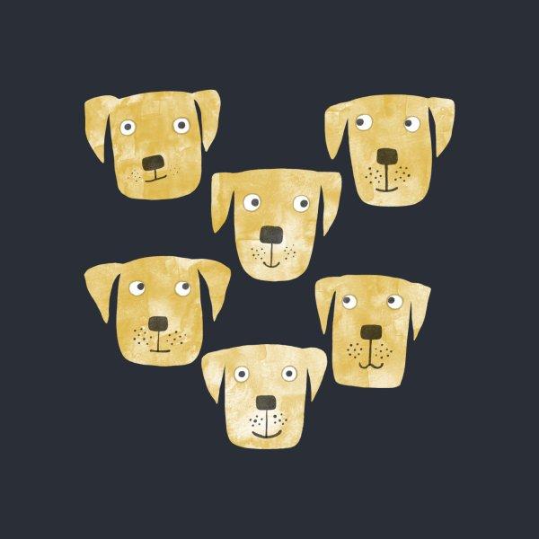 image for Golden Labrador Retriever Dogs Dark