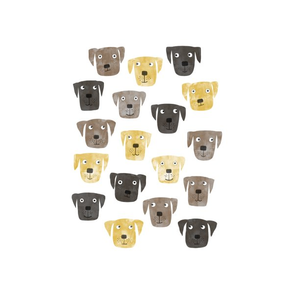 Design for Labrador Retriever Dogs