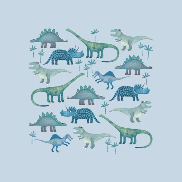 Design for Dinosaurs Blue