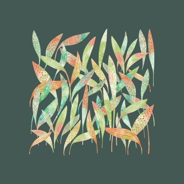 image for Hosta Leaves in the Dark